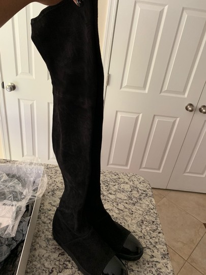Casadei over the Knee Boots Black Boots Image 2