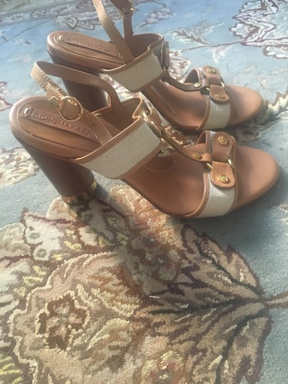 BCBGMAXAZRIA Brown Sandals Image 1
