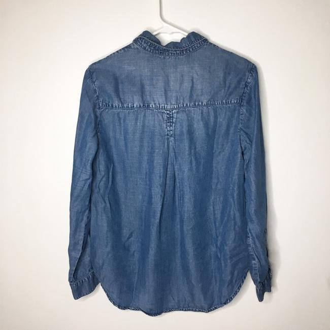 Cloth & Stone Button Down Shirt blue Image 2