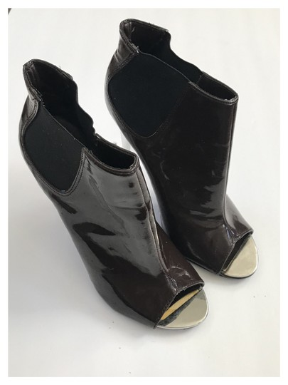 Qupid Brown/chrome Boots Image 1