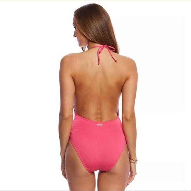 Vince Camuto Vince Camuto Solid U-Back One Piece Swimsuit Image 3