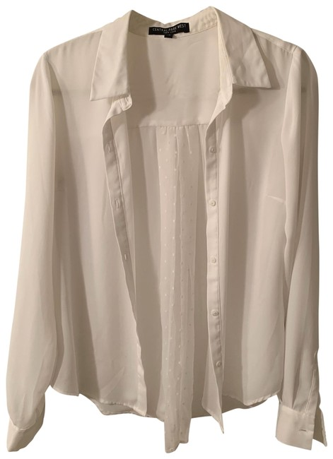 Preload https://img-static.tradesy.com/item/26174111/central-park-west-white-blouse-button-down-top-size-2-xs-0-2-650-650.jpg