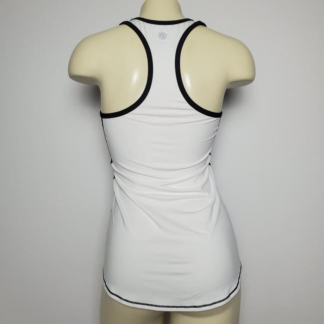 ATHLETA TWO TONED RACER BACK TANK TOP ATHLETIC Image 1
