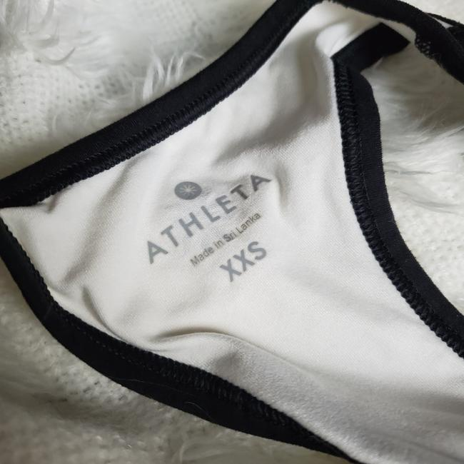ATHLETA TWO TONED RACER BACK TANK TOP ATHLETIC Image 4