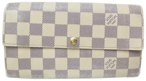 Louis Vuitton Louis Vuitton Portefeuille Sarah Damier Azur Long Wallet 11349