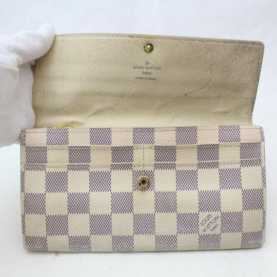 Louis Vuitton Louis Vuitton Portefeuille Sarah Damier Azur Long Wallet 11349 Image 2