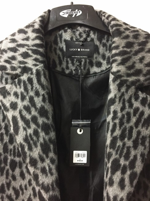 Lucky Brand Winter Faux Fur Coat Image 3