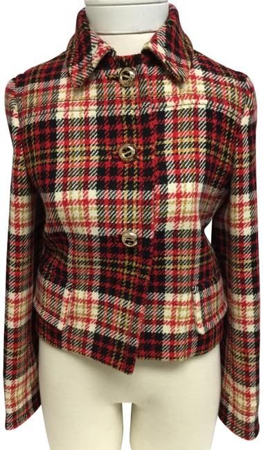 Preload https://img-static.tradesy.com/item/26174229/prada-red-and-black-plaid-with-gold-buttons-jacket-size-4-s-0-3-650-650.jpg