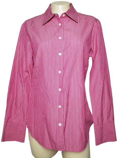 Preload https://img-static.tradesy.com/item/26174233/jcrew-pink-slim-fit-button-up-cotton-button-down-top-size-10-m-0-2-650-650.jpg