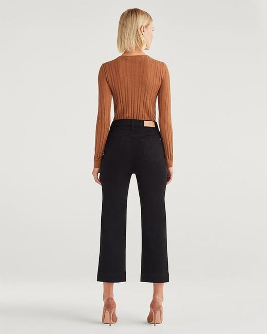 7 For All Mankind Trouser/Wide Leg Jeans-Dark Rinse Image 2