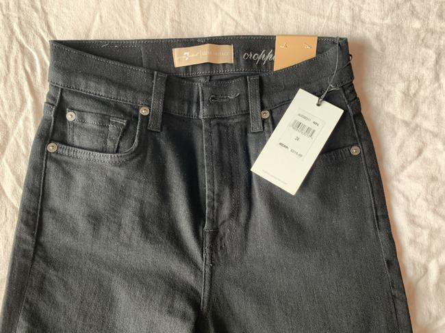 7 For All Mankind Trouser/Wide Leg Jeans-Dark Rinse Image 7