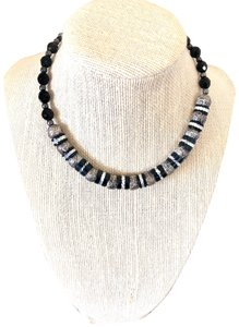 Unknown black onyx and silver