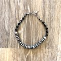 Unknown black onyx and silver Image 4