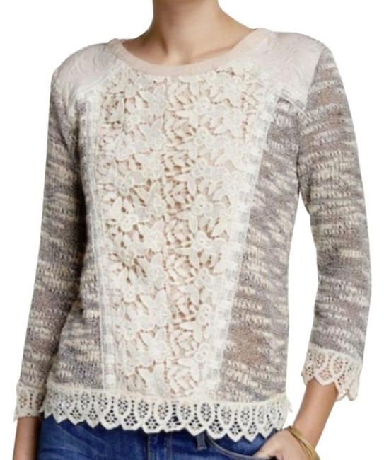 Preload https://img-static.tradesy.com/item/26174258/anthropologie-multicolor-l-emerson-womens-brown-pink-blouse-size-12-l-0-2-650-650.jpg
