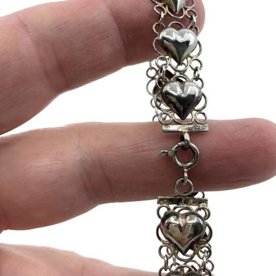 Other Filigree Puffy Hearts Bracelet Image 2