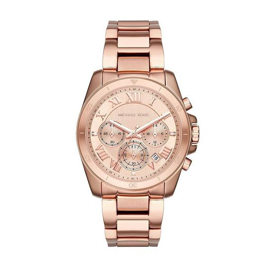 Preload https://img-static.tradesy.com/item/26174384/michael-kors-rose-gold-brecken-gold-tone-chronograph-mk6367-watch-0-0-540-540.jpg