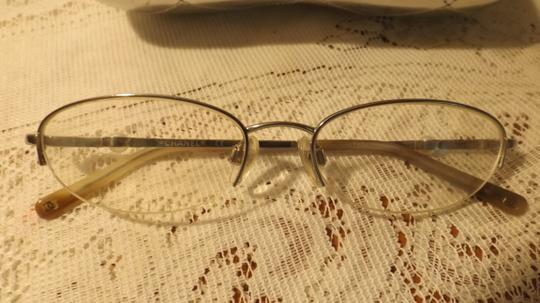 Chanel Vintage Chanel Eyeglasses, RX, Silver Case, Perle Frames, Authentic Image 1
