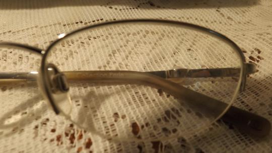 Chanel Vintage Chanel Eyeglasses, RX, Silver Case, Perle Frames, Authentic Image 5