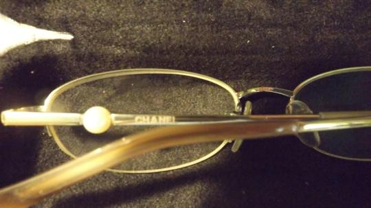 Chanel Vintage Chanel Eyeglasses, RX, Silver Case, Perle Frames, Authentic Image 8