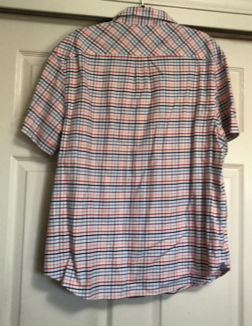 Original Penguin by Munsingwear T Shirt multi colors in stripes. Image 1