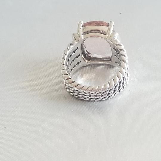 David Yurman David Yurman Wheaton 16x12 Morganite Diamond Ring Image 3