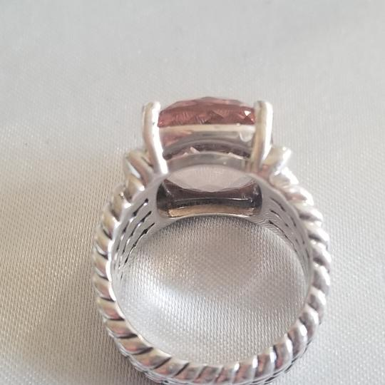 David Yurman David Yurman Wheaton 16x12 Morganite Diamond Ring Image 6