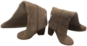 Vince Camuto Over The Knee Heels Olive Boots