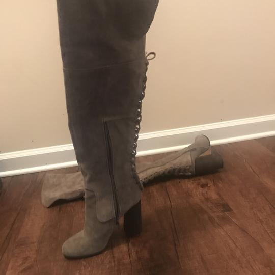 Vince Camuto Over The Knee Heels Olive Boots Image 1