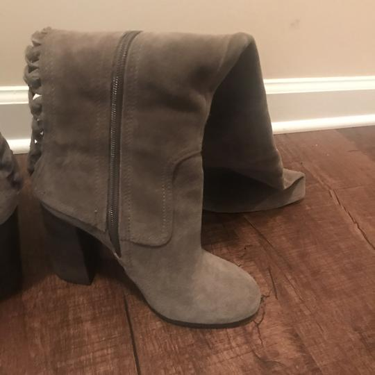 Vince Camuto Over The Knee Heels Olive Boots Image 5