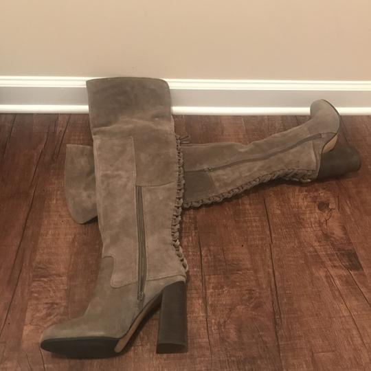 Vince Camuto Over The Knee Heels Olive Boots Image 8