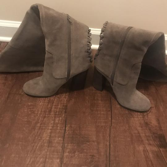 Vince Camuto Over The Knee Heels Olive Boots Image 9