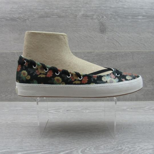 Converse Strappy Floral Black Flats Image 1