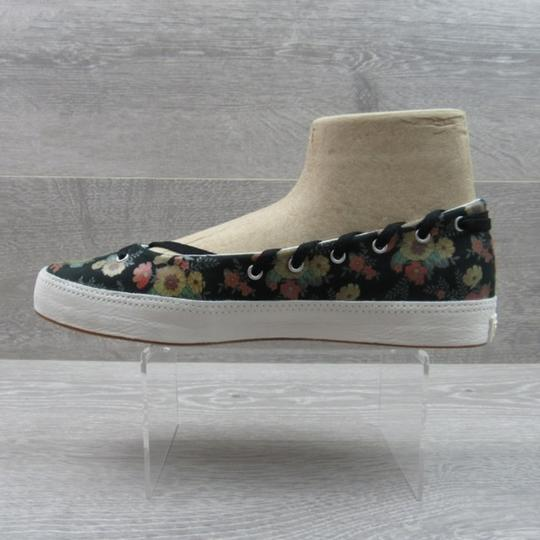 Converse Strappy Floral Black Flats Image 2