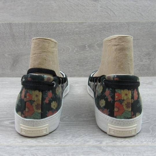 Converse Strappy Floral Black Flats Image 4