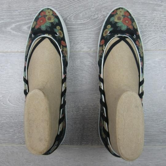 Converse Strappy Floral Black Flats Image 5