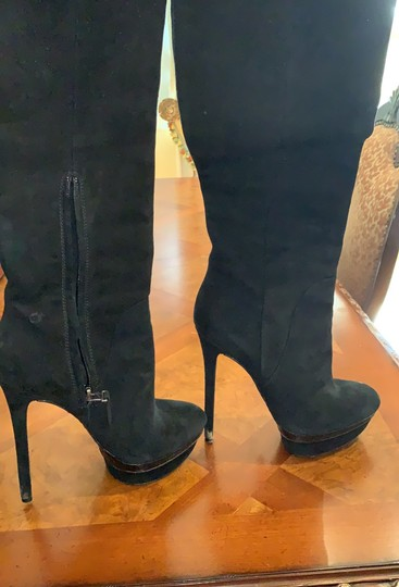 Brian Atwood black Boots Image 1