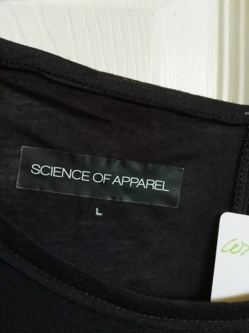 Science of Apparel T Shirt Black Image 2