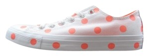 Converse White Orange Athletic