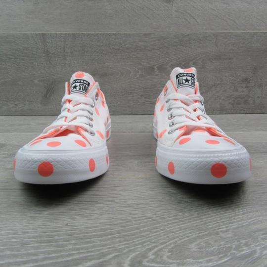 Converse White Orange Athletic Image 2
