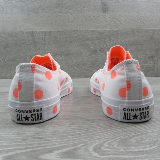 Converse White Orange Athletic Image 4