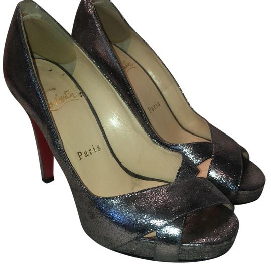 Christian Louboutin silver Pumps Image 0