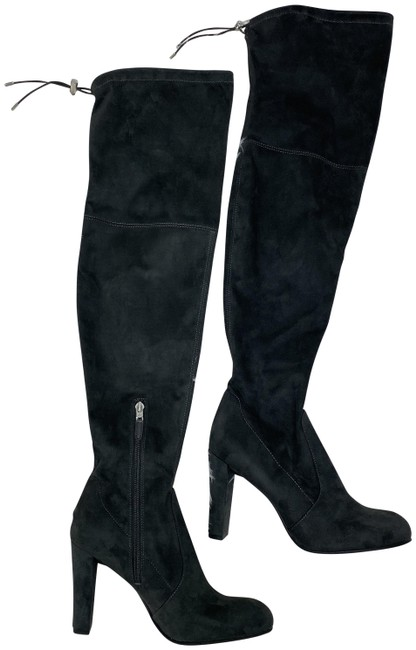 Item - Charcoal Gray Suede Boots/Booties Size US 8 Regular (M, B)