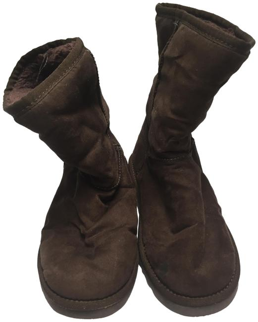 Item - Brown Short Boots/Booties Size US 8 Regular (M, B)