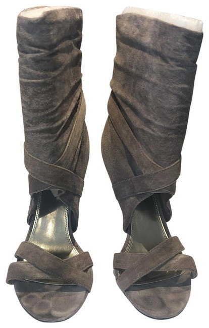 Item - Taupe Call Me Ii Boots/Booties Size US 7.5 Regular (M, B)