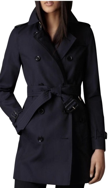Item - Navy Harbourne Coat Size 2 (XS)