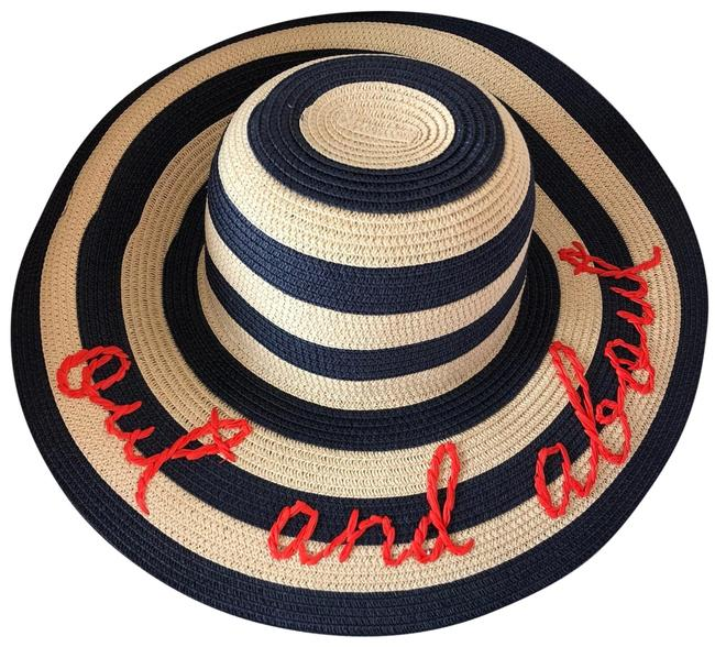 "Kate Spade Beige ""out & About"" Straw Hat Kate Spade Beige ""out & About"" Straw Hat Image 1"