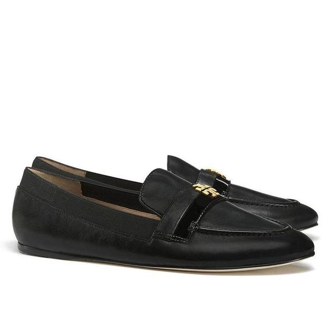 Item - Black/Gold with Tag Black/Gold Jolie Soft Patent Calf Loafer Women's Flats Mules/Slides Size US 8 Regular (M, B)
