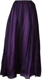 Laundry by Shelli Segal Evening Maxi Skirt plum