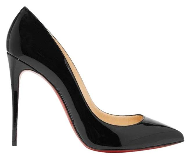Christian Louboutin Black Pigalle Follies 100 Patent Leather Heels Pumps Size EU 42 (Approx. US 12) Regular (M, B) Christian Louboutin Black Pigalle Follies 100 Patent Leather Heels Pumps Size EU 42 (Approx. US 12) Regular (M, B) Image 1
