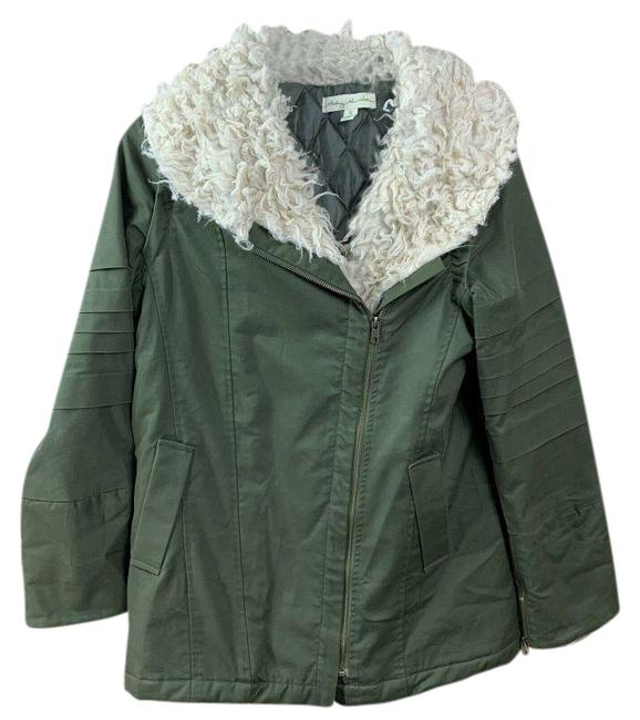 Item - Green At Stars Coat Vest Women's Small Jacket Size 4 (S)